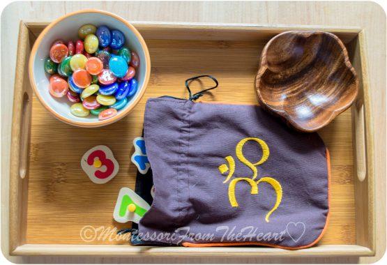 Montessori-Numbers-Memory Game