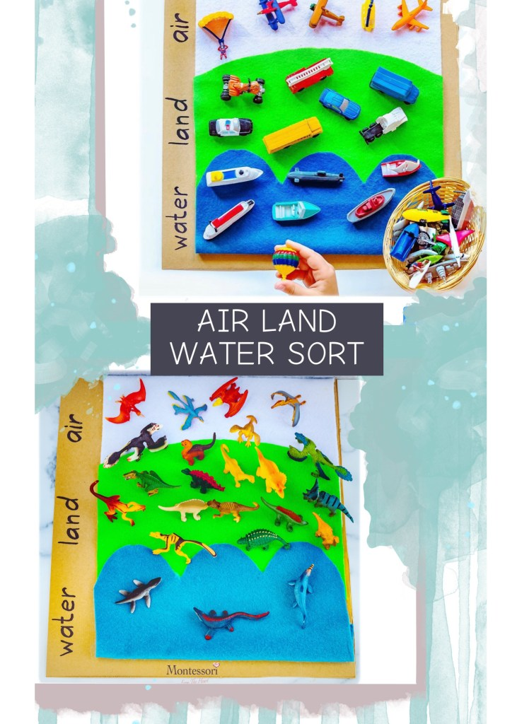 AIR-LAND-WATER-SORT-Kids-Activity