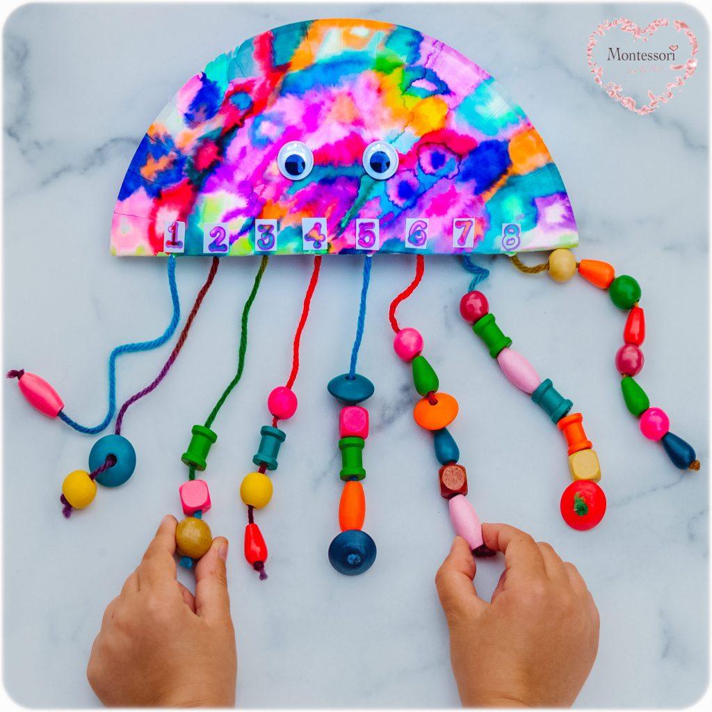 Octopus-Tentacle-Counting-1-1 correspondence-Math-Preschool