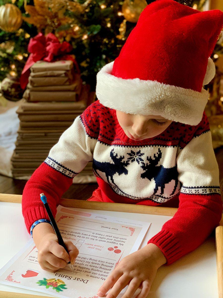 LETTER TO SANTA | CHRISTMAS Printable | Kids Activity