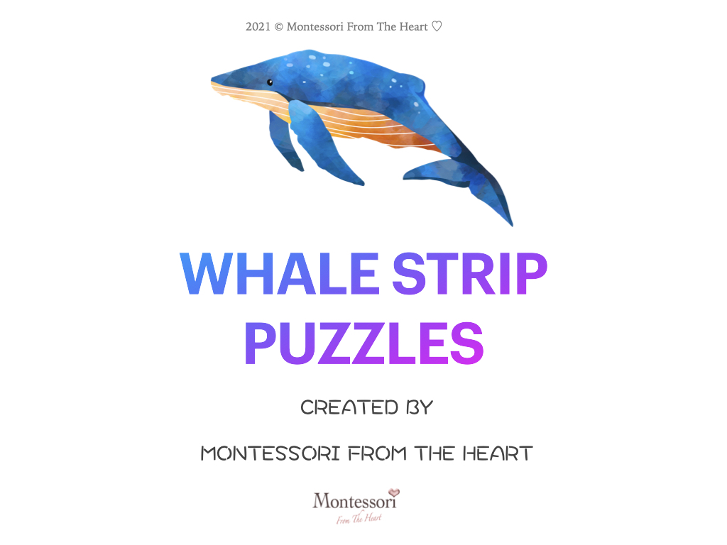 WHALE Montessori KIDS ACTIVITIES