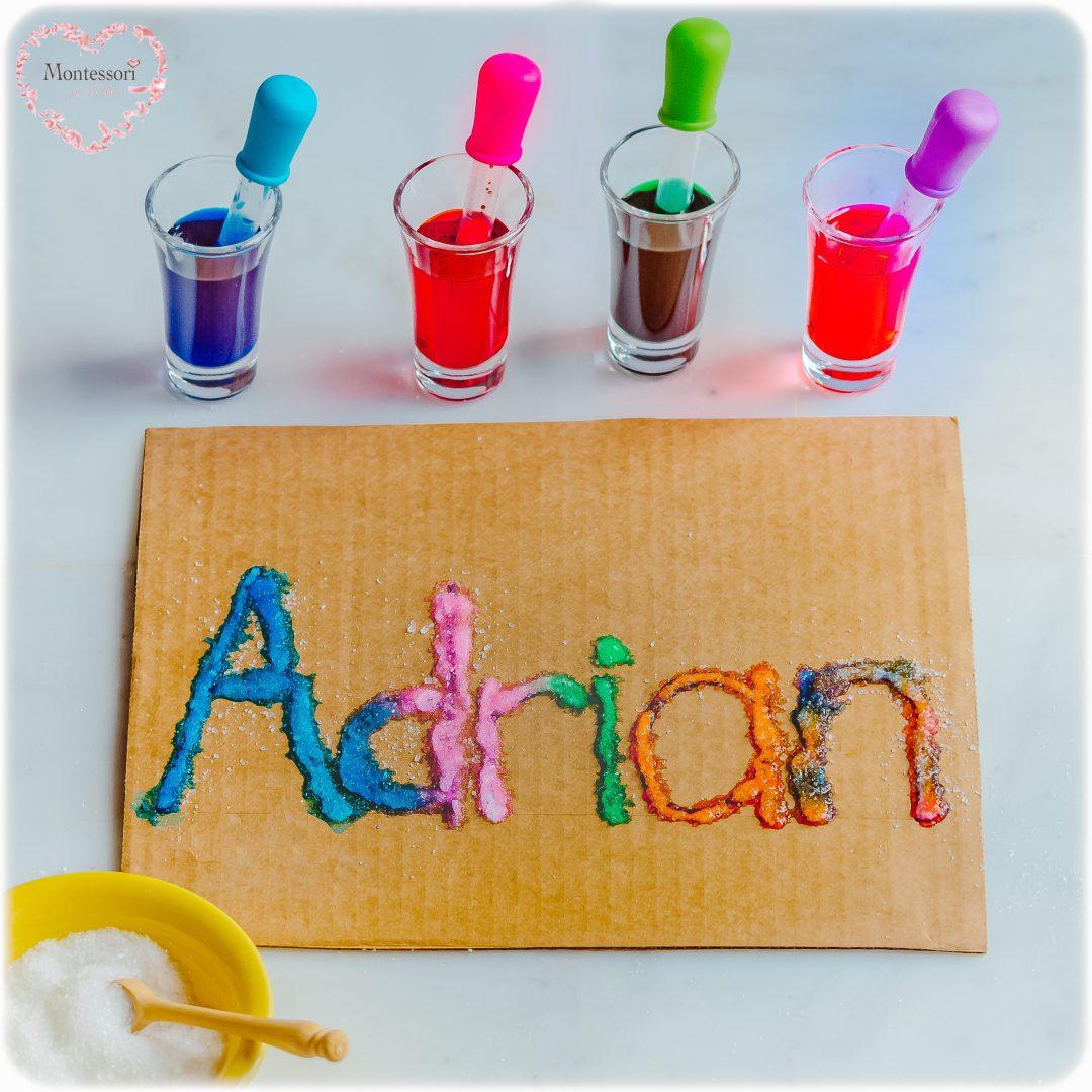 SALT-PAINTING_NAME-RECOGNITION-PRESCHOOL KIDS ACTIVITY