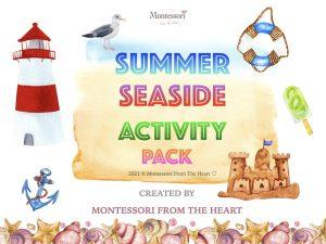 SEASIDE SUMMER KIDS ACTIVITY MEGA PACK