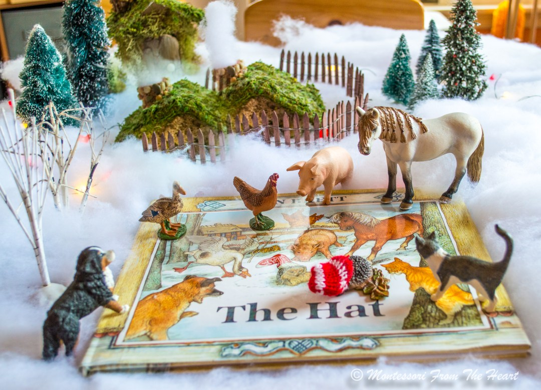 The HAT Book | Winter Favorite Reading Collection Books Reading with Kids