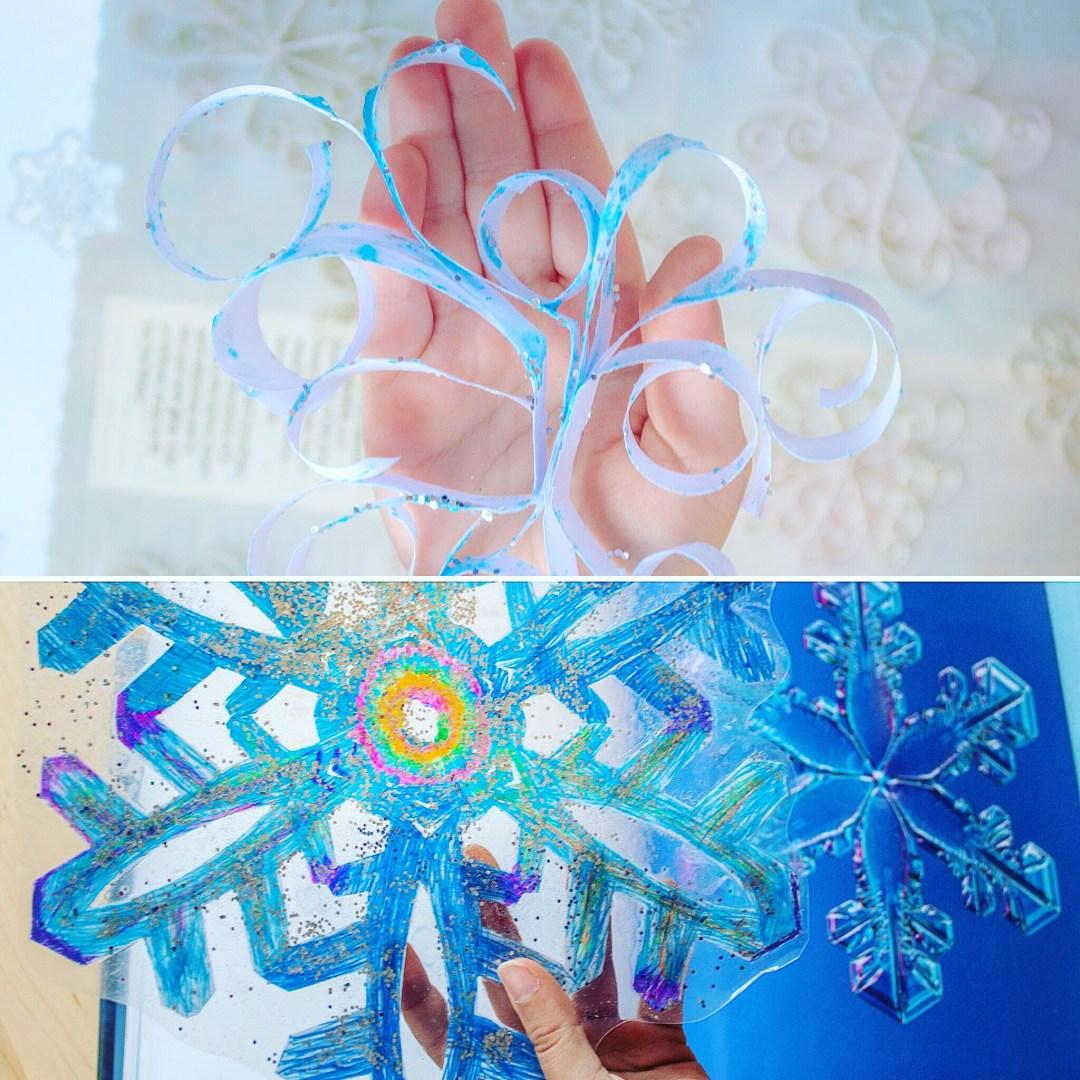 PAPER SNOWFLAKE WINTER CRAFT | Kids Winter Activity