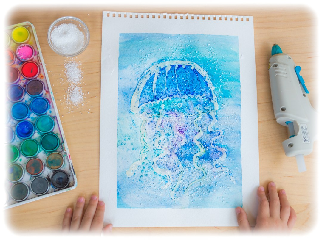 3D-Textured-Jellyfish-Kids-Craft