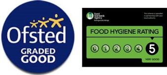 Montessori Garden Nursery School ofsted and food standard