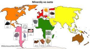 MINERALY vo svete