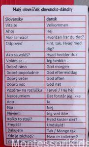 Lapbook Dánsko