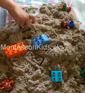 Lego kineticky piesok
