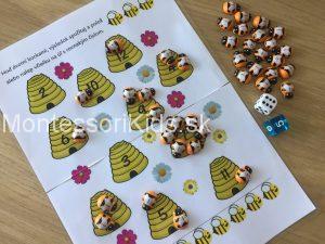 včely hra sčítanie