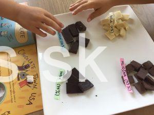 Montessori čokoláda