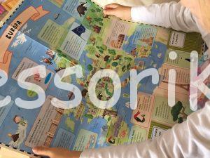 Kniha Atlas sveta pre deti