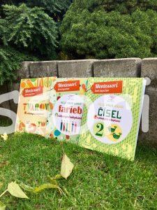 Montessori farby, tvary a čísla