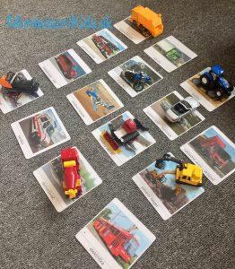 Autá trojzložkové karty