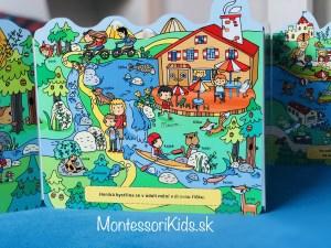 Montessori knihy o dopravných prostriedkoch