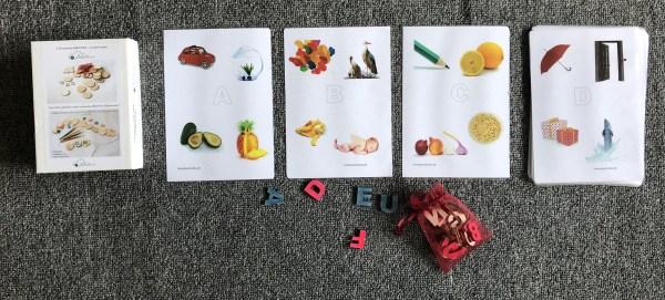 Karty na spoznávanie písmen