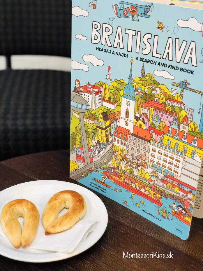 Kniha Bratislava hľadaj a nájdi