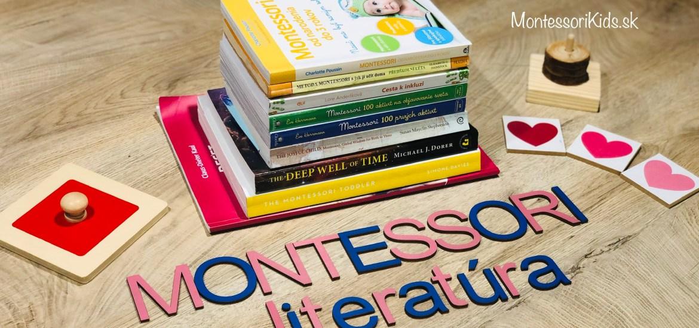 Montessori výchova knihy pre rodičov