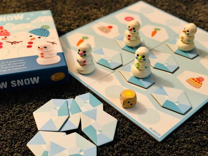 Djeco Snow Snow kooperatívna hra