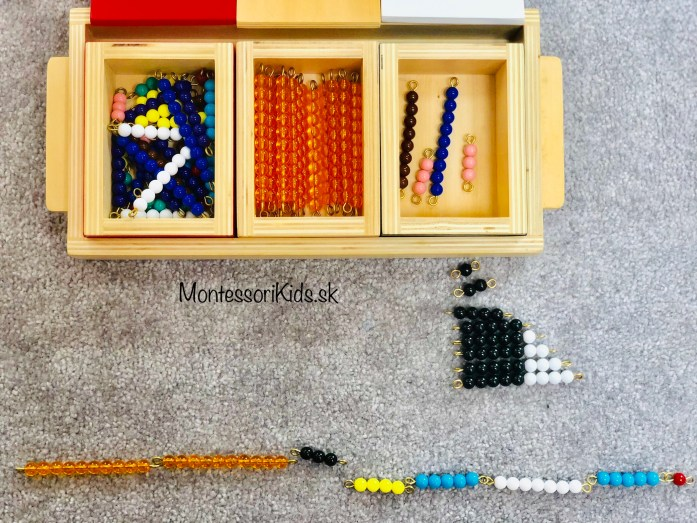Montessori sčítací had
