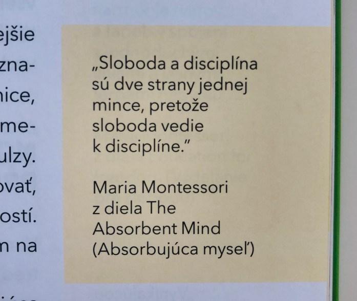 Montessori knihy pre rodičov