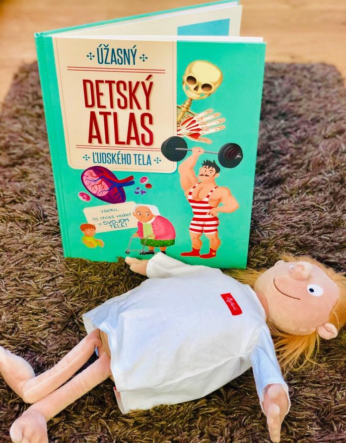 Úžasný detský atlas ľudského tela