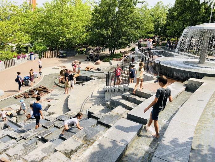 Playmobil park s deťmi