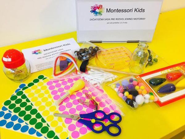 Montessori štartovací box