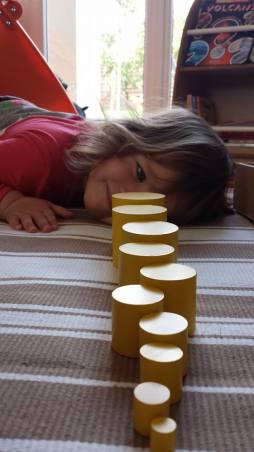 cylindres jaunes