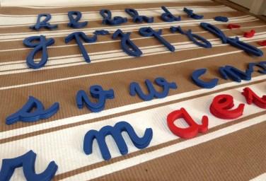 Alphabet mobile 1