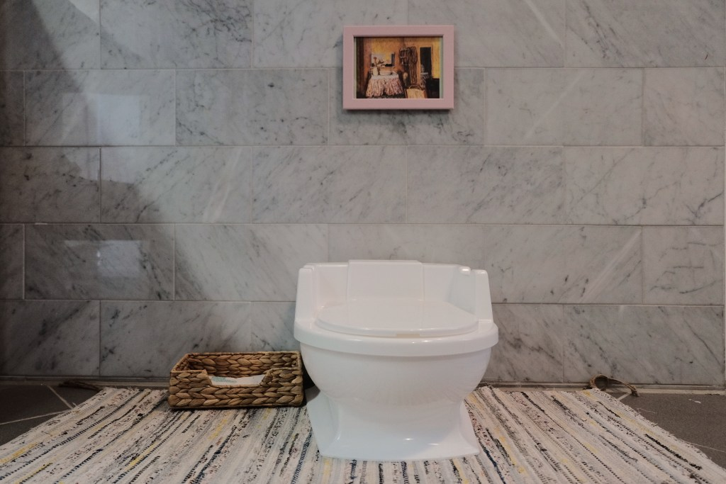 montessori potty, toilet awareness, potty awareness, elimination communication, prepared environment, montessori toilet
