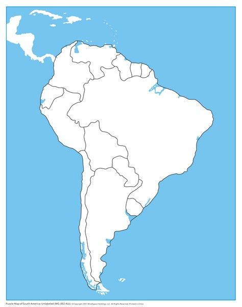 Moreover, travelers prefer to check out the says since there are intriguing points to get in this great land. South America Control Map Unlabeled