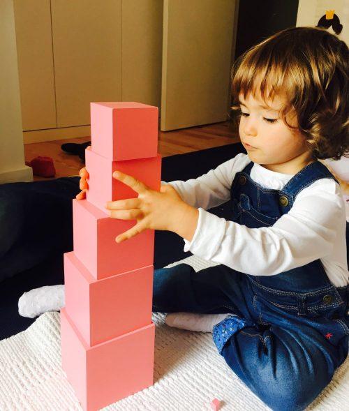 Montessori, estrutura, ordem e criatividade