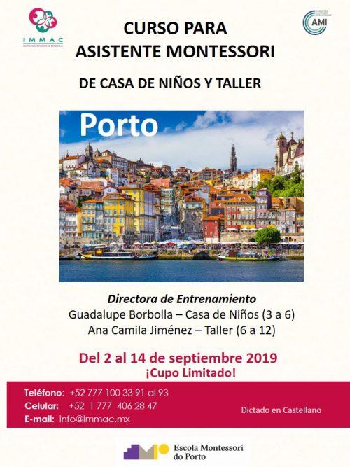 Vem aí nova edição do curso de Assistente Montessori no Porto