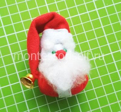 Tissu Santa Claus