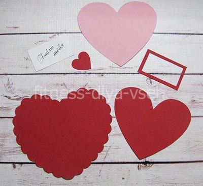 Материалы для ажурного сердечка