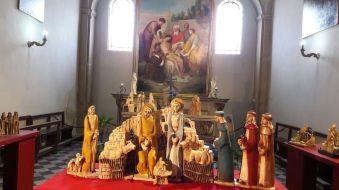 """La mostra """"Quella notte a Betlemme"""" allestita presso l'antica Chiesa della Misericordia"""