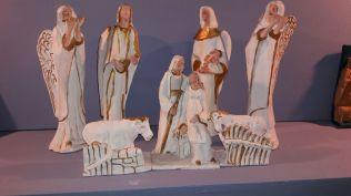 Una delle pregevoli opere dell'artista locale Romano Dini. L'arte del presepe artigianale costituisce un'eccellenza del nostro territorio