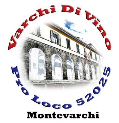 Il logo pensato per l'evento Varchi di Vino, ideato dal consigliere Pro Loco Roberto Ceccherini