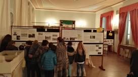 Scolaresche in visita alla mostra della Prima Guerra Mondiale