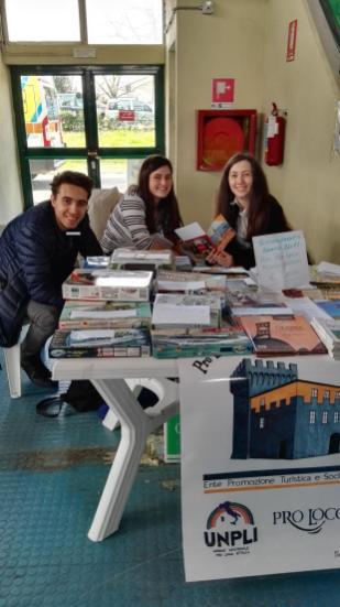 Studenti coinvolti nel progetto Alternanza Scuola-Lavoro. Uno dei progetti della nostra Pro Loco è la collaborazione con gli istituti scolastici.