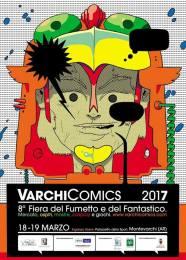 La collaborazione con Varchi Comics ha avuto inizio nel 2017 e da allora ha prodotto ottimi risultati, in termini di collaborazione e produzione culturale. Un'esperienza destinata a durare a lungo, per un evento che si colloca tra i più rappresentativi di Montevarchi