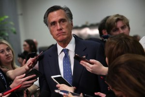 Failed candidate for President Mitt Romney