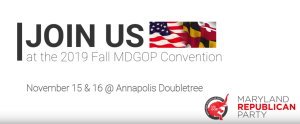 Graphic – Fall MDGOP Convention 11/15 & 11/16 at Annapolis - Doubletree