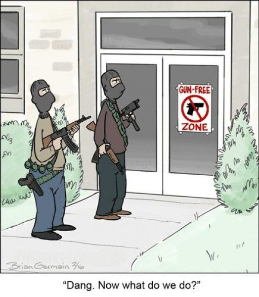 Logic of Gun Free Zones