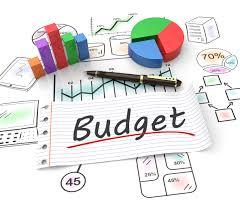 Graphic representing Budget
