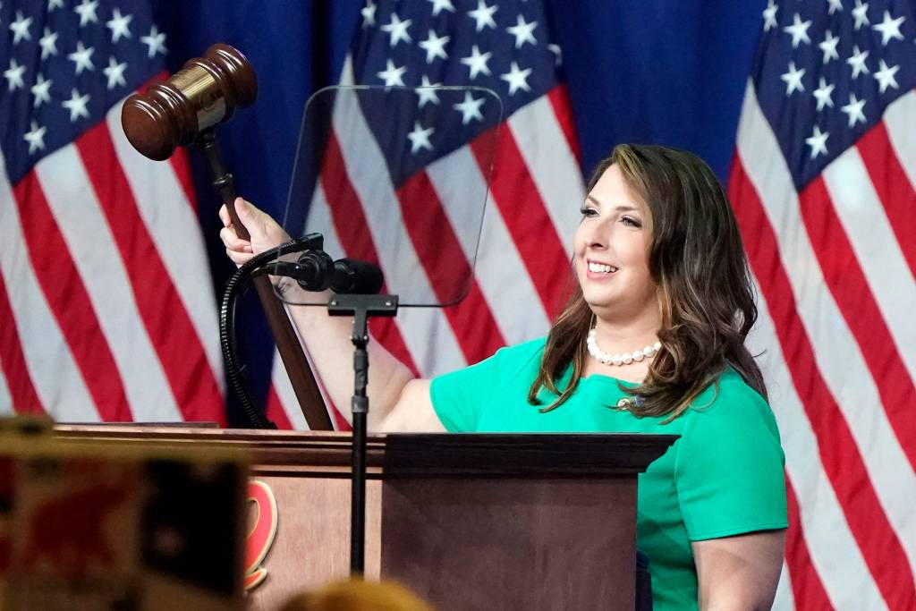 RNC Chairwoman Ronna McDaniel Addresses the Republican National Convention