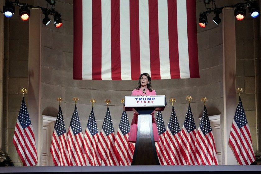 Nikki Haley's full speech at the Republican National Convention | 2020 RNC Night 1