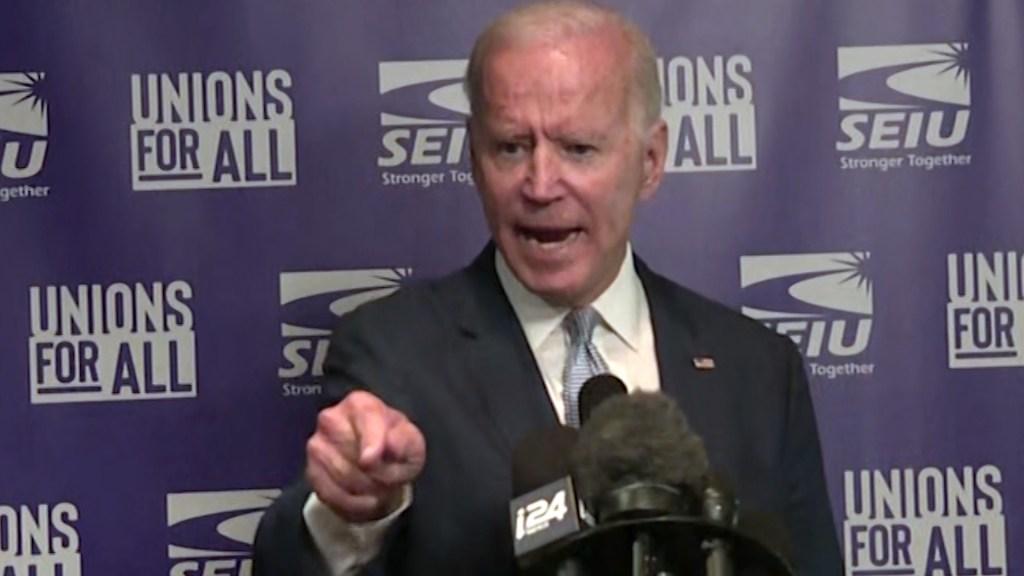 Angry Joe Biden